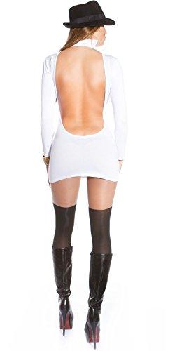 Sexy Minikleid mit Rollkragen rückenfrei!! Koucla by In-Stylefashion SKU 0000MKRF104 - 2