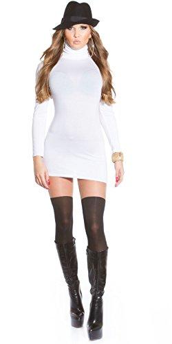 Sexy Minikleid mit Rollkragen rückenfrei!! Koucla by In-Stylefashion SKU 0000MKRF104 - 5