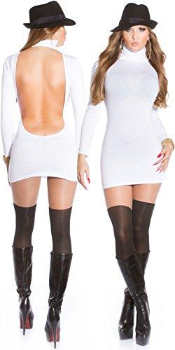 Sexy Minikleid mit Rollkragen rückenfrei!! Koucla by In-Stylefashion SKU 0000MKRF104 - 6