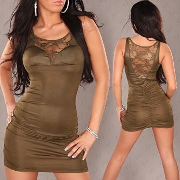 Sexy Minikleid mit Spitze am Dekollete und Rücken Koucla by In-Stylefashion SKU 0000A-33106 - 2