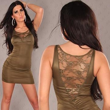 Sexy Minikleid mit Spitze am Dekollete und Rücken Koucla by In-Stylefashion SKU 0000A-33106 - 3