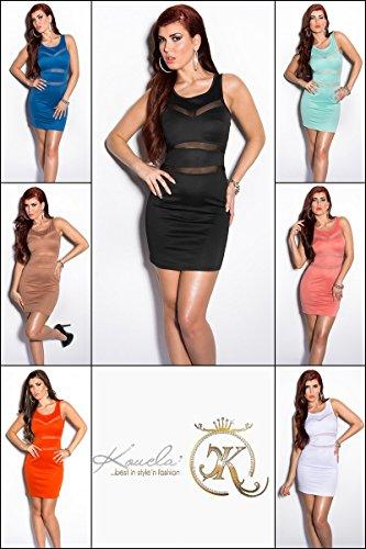 Sexy Minikleid mit transparenten Einsätzen Koucla by In-Stylefashion SKU 0000K924609 - 9
