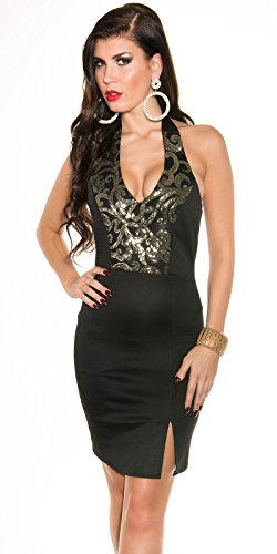 Sexy Neck-Kleid mit Pailetten Koucla by In-Stylefashion SKU 0000K187602 - 1