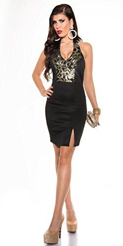 Sexy Neck-Kleid mit Pailetten Koucla by In-Stylefashion SKU 0000K187602 - 4