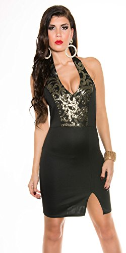 Sexy Neck-Kleid mit Pailetten Koucla by In-Stylefashion SKU 0000K187602 - 5