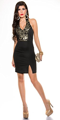 Sexy Neck-Kleid mit Pailetten Koucla by In-Stylefashion SKU 0000K187602 - 6