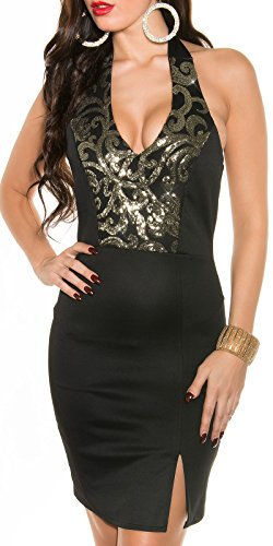 Sexy Neck-Kleid mit Pailetten Koucla by In-Stylefashion SKU 0000K187602 - 8