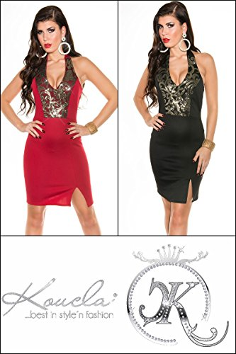 Sexy Neck-Kleid mit Pailetten Koucla by In-Stylefashion SKU 0000K187602 - 9
