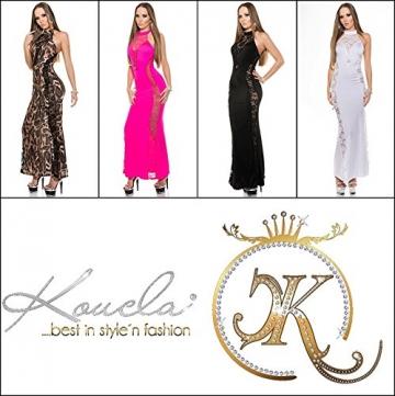 Sexy Neck-Kleid mit Spitzenstoff und geschnürt Koucla by In-Stylefashion SKU 0000ISF-G503 - 7