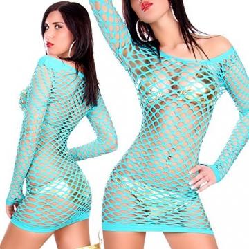 Sexy Netz-Minikleid Koucla by In-Stylefashion SKU 0000NTZ7702 - 2