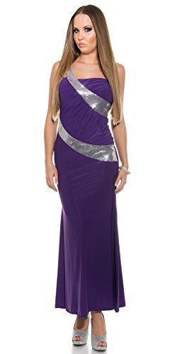 Sexy One-Shoulder Kleid mit Pailletten Koucla by In-Stylefashion SKU 0000K1943403 - 5