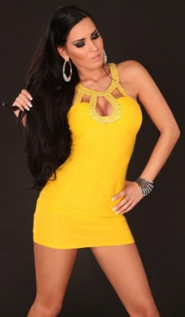 Sexy Party Minidress with sequins Koucla by In-Stylefashion SKU 0000K358101 - 5