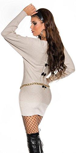 Sexy Pullover mit Strass und Spitze am Rücken Koucla by In-Stylefashion SKU 0000ISF53201 - 7