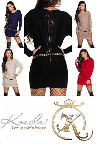 Sexy Pullover mit Strass und Spitze am Rücken Koucla by In-Stylefashion SKU 0000ISF53201 - 9