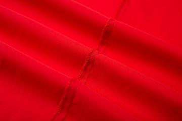 Simplee Apparel Damen Partykleid Sexy V-Ausschnitt Rückenfrei Maxi Lang Satin Träger Kleid Abendkleid Cocktailkleid Rot - 4