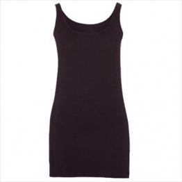 Skinnifit - Extra langes Longtop / Minikleid / Black, L - 1
