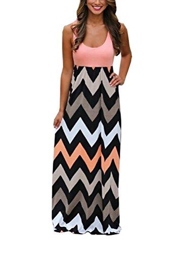 begrenzter Verkauf verrückter Preis erstklassig SMITHROAD Damen A-Line Kleid Bohemien Sommerkleid Tailliert