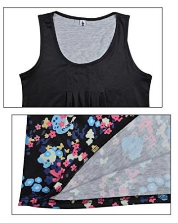 4da288f4055d Sexy Sommerkleid Rundhals mit Blumenmuster