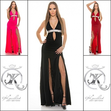 Soo HOT! Kleid m.Strass & Beinschlitz by In-Stylefashion schwarz -