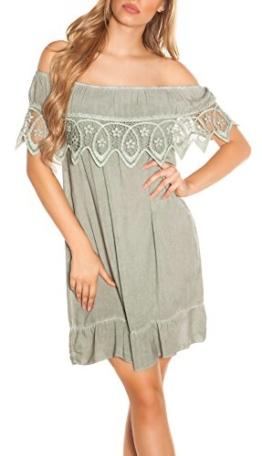 Stand Sommer-Kleid Off Shoulder-Style Carmen Look One Size (Einheitsgröße) - 1