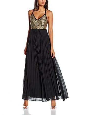 Studio 75 Damen, Kleid, Yassiam Maxi Dress 75, GR. 40 (Herstellergröße:42), Schwarz (Black) - 1