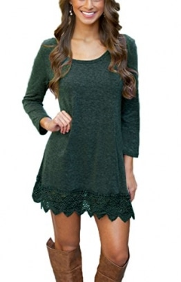 Summer Mae Damen A-line Lace Quaste Beiläufigkeit Herbst Kleid Retro-Look Dress M -