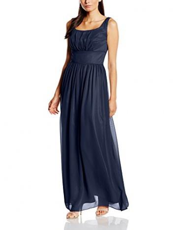 Swing Damen Abendkleid in Maxi-Länge, Gr. 44, Blau (schwarzblau 300) - 1