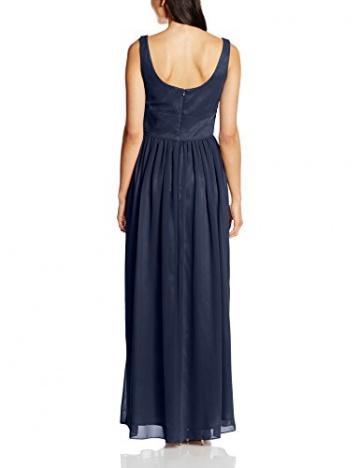 Swing Damen Abendkleid in Maxi-Länge, Gr. 44, Blau (schwarzblau 300) - 2