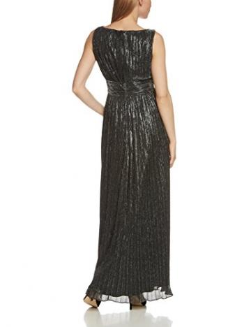 Swing Damen Abendkleid in Maxi-Länge mit Metallfaser, Gr. 42, Schwarz (schwarz/silber 1016) - 2
