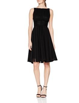 Swing Damen Kleid Emma Schwarz (Schwarz 100),38 (Herstellergröße:38) - 1