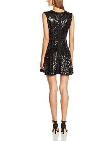 Swing Damen Kleid mit Pailletten, Gr. 34, Schwarz (schwarz 1010) - 2