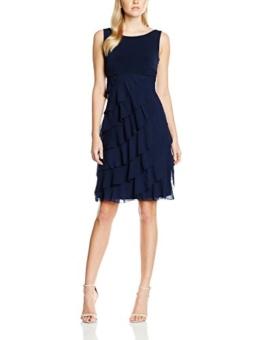 Swing Damen Olivia Kleid, Blau (Marine 300), 38 (38) - 1