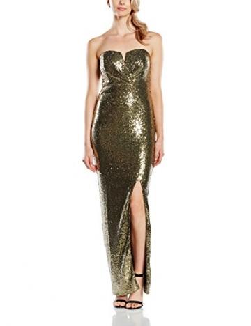 tfnc Damen, Kleid, Britania, GR. 36 (Herstellergröße: Size 10), Grün (light Olive) - 1