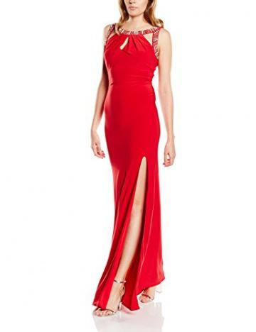 tfnc Damen, Kleid, Samatha, GR. 38 (Herstellergröße: Size 12), Rot (Red) - 1
