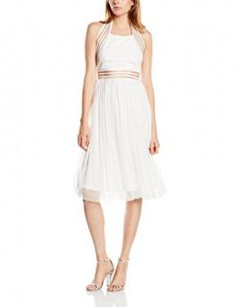 tfnc Damen, Skater, Kleid, Sabila, GR. 38 (Herstellergröße: Size 12), Weiß (White) - 1