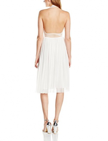 tfnc Damen, Skater, Kleid, Sabila, GR. 38 (Herstellergröße: Size 12), Weiß (White) - 2
