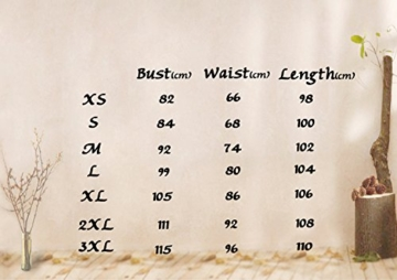 Timormode Rockabilly Kleider Neckholder 50s Vintage Kleid Retro Knielang Kleider Damenkleider Festlich Cocktailkleider 10387 Koralle M - 7