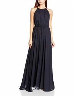 Tommy Hilfiger Damen Neckholder Kleid CELENA DRESS NS, Maxi, Gr. 40 (Herstellergröße: 10), Blau (DARK NAVY 435) - 1