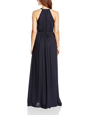 Tommy Hilfiger Damen Neckholder Kleid CELENA DRESS NS, Maxi, Gr. 40 (Herstellergröße: 10), Blau (DARK NAVY 435) - 2