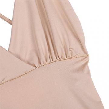 Tranello (TM) se xy, Frauen, Frauen Backless Paket H¨¹fte Verbandkleid Low-Cut tiefem V-Ausschnitt Enge Diskothek Partykleid Sommer Bodycon vestidos -