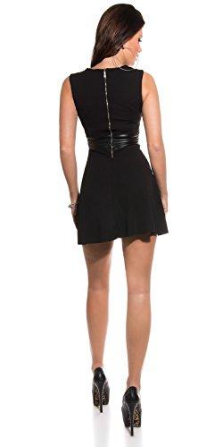 Trendy KouCla Minikleid mit Lederlook Koucla by In-Stylefashion SKU 0000K183124 - 3