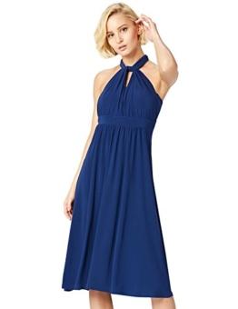 TRUTH & Fable Multiway Midi Hochzeitskleid Blau (Medival Blue) 14 (Herstellergröße: Large) - 1