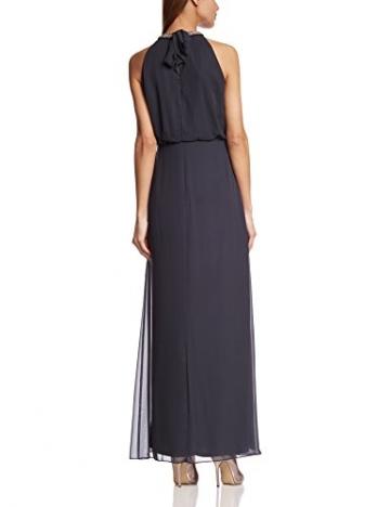Vera Mont Damen Cocktail Kleid 2182/3985, Maxi, Einfarbig, Gr. 40, Grau (Graphite 8531) - 2