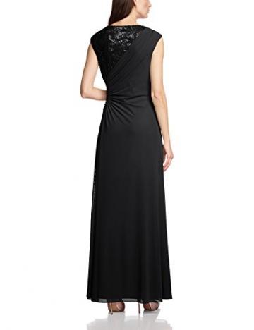 Vera Mont Damen Cocktail Kleid 2209/3640, Maxi, Einfarbig, Gr. 42, Schwarz (Jet Black 9042) - 2