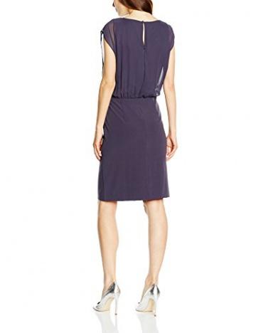 Vera Mont Damen Kleid 2108/4612, Knielang, Gr. 36, Grau (Mood Indigo 8528) - 2