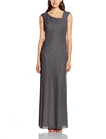 Vera Mont Damen Kleid 2221/4640, Maxi, Gr. 40, Grau (Platinum Grey 9023) - 1