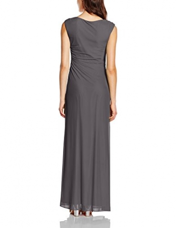 Vera Mont Damen Kleid 2221/4640, Maxi, Gr. 40, Grau (Platinum Grey 9023) - 2