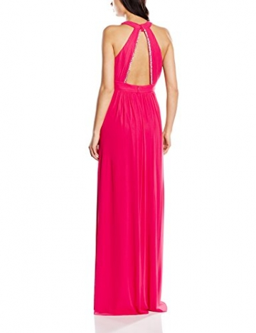 Vera Mont VM Damen Cocktail Kleid 2098/3561, Maxi, Gr. 38, Rosa (Pink Red 4214) -