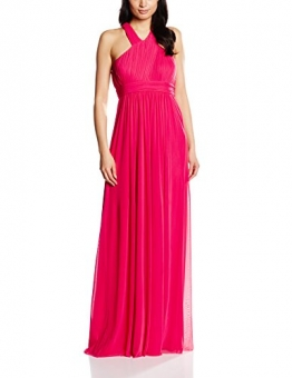 Vera Mont VM Damen Cocktail Kleid 2098/3561, Maxi, Gr. 38, Rosa (Pink Red 4214) -
