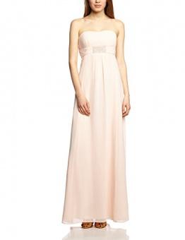 Vera Mont VM Damen Cocktail Kleid 0075/4825, Maxi, Einfarbig, Gr. 36, Rosa (Cream Tan 4220) - 1